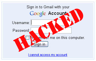 gmail password hacked