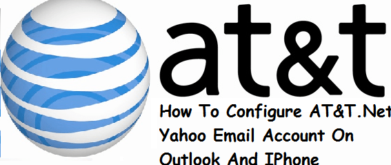 AT&T email setting for Outlook and iPhone