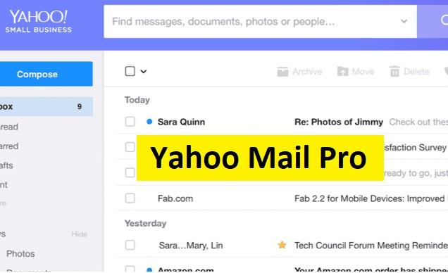 yahoo mail pro